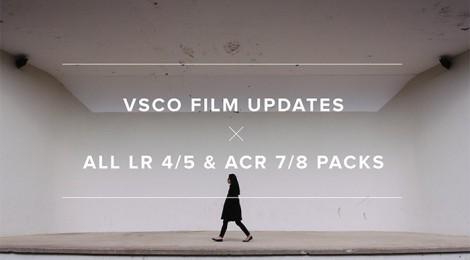 VSCO Film® Updates include X-E2 Profiles