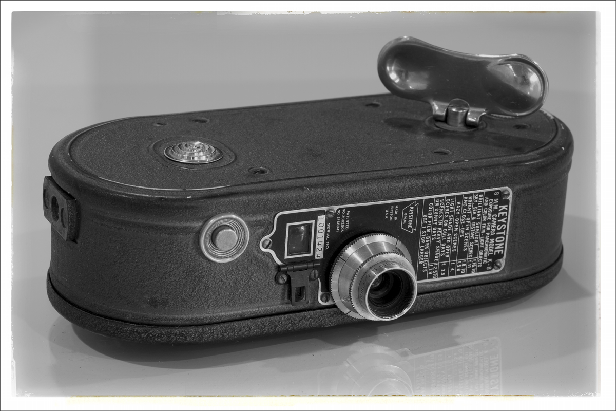 Keystone K-8 8mm Cine Camera – 1936