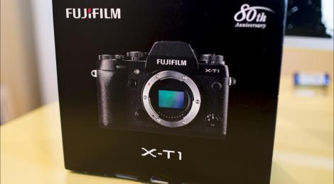 Fuji X-T1 Unboxing