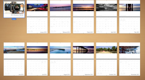 2015 Calendar Just Went To Print